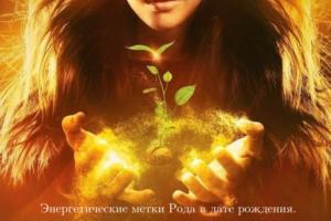 Юлия Бойко. Энергетические метки Рода.