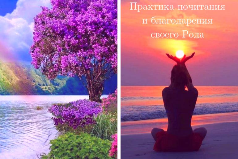 Юлия Бойко. Женские практики. Практика Почитание и благодарение своего Рода